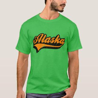 Tshirt do estado de Alaska E.U.