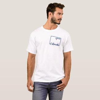 Tshirt do estado de Colorado Denver