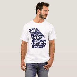 Tshirt do estado de Geórgia
