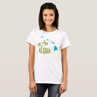 Tshirt do estado de Havaí Aloha