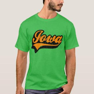 Tshirt do estado de Iowa E.U.