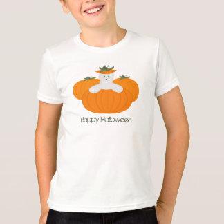Tshirt do fantasma da abóbora
