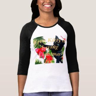 Tshirt do feriado das meninas das mulheres do dive