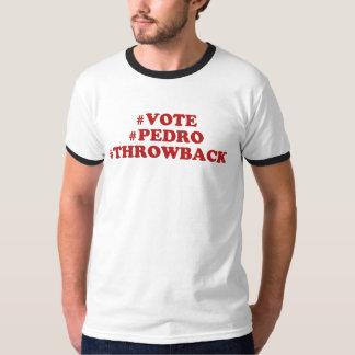 tshirt do hashtag do #throwback do #pedro do #vote