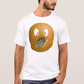 Tshirt do homem da abóbora