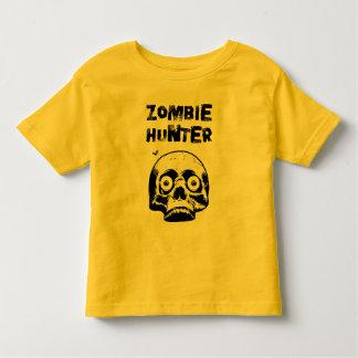 Tshirt do horror do caçador do zombi da criança -