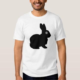 Tshirt do ícone do floco de neve grande