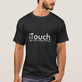 Tshirt do iTouch - preto