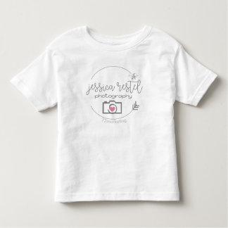 Tshirt do jérsei da criança da fotografia de