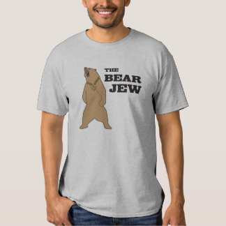 Tshirt do judeu do urso