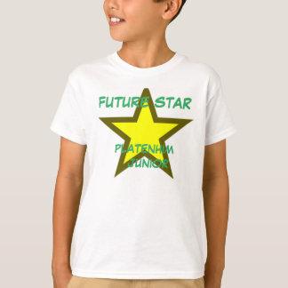 Tshirt do júnior de Platenhim dos meninos