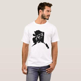 Tshirt do lobo do estado de Alaska