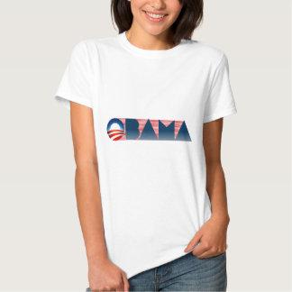 tshirt do logotipo de obama