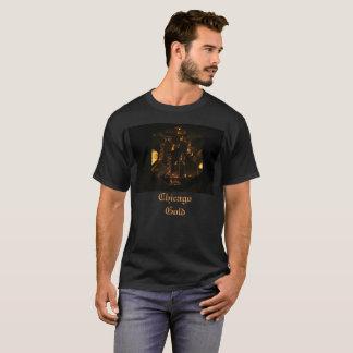 Tshirt do ouro de Chicago