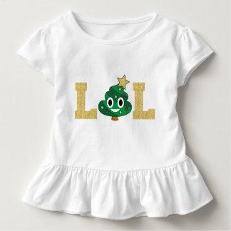 Tshirt do plissado da criança de Emoji do