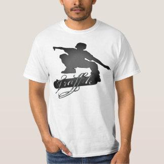 Tshirt do promocional dos skates de Traffik