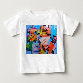 Tshirt do quebra-cabeça da criança