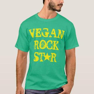 """Tshirt Do """"t-shirt da estrela do rock Vegan"""""""