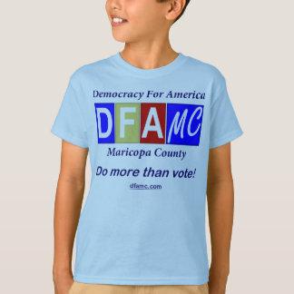 Tshirt do tamanho da criança de DFA-MC