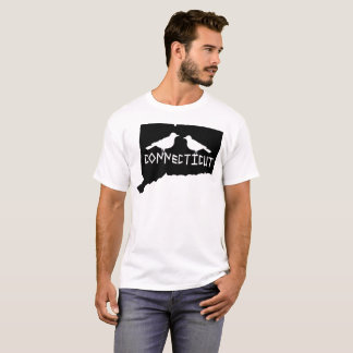 Tshirt do tordo do estado de Connecticut