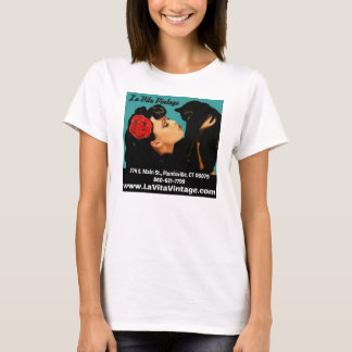 Tshirt do vintage de Vita do La