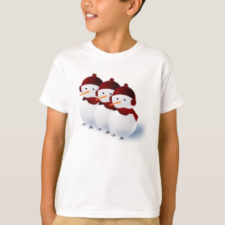 Tshirt dos amigos da neve