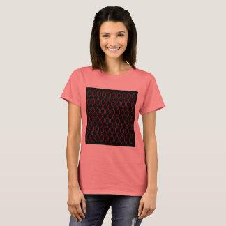Tshirt dos desenhistas: Rosa preto de Marrocos
