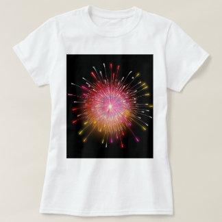 Tshirt dos fogos-de-artifício