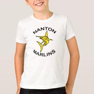 Tshirt dos meninos dos espadim de Nanton