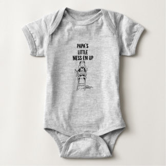Tshirt Em da confusão da papá pouco acima