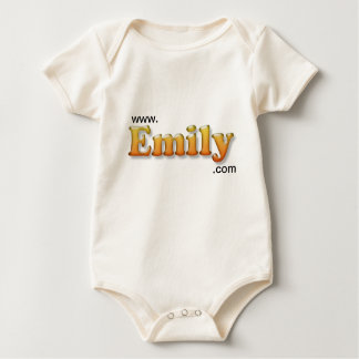 tshirt emily do bebê