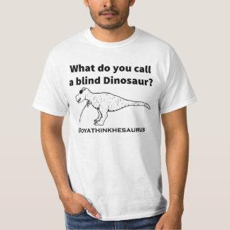Tshirt engraçado da piada do dinossauro