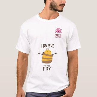 Tshirt engraçado das batatas fritas