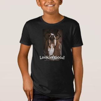 Tshirt engraçado do Basset