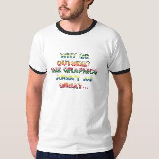 Tshirt engraçado do jogo de vídeo do Gamer dos