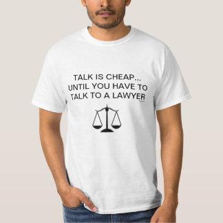 TShirt engraçado dos advogados