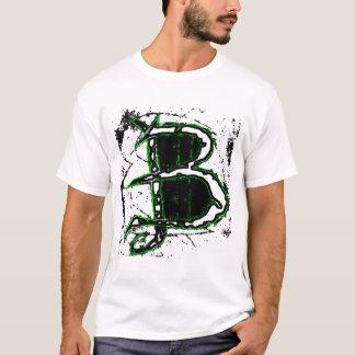 Tshirt Esboço verde de BBB