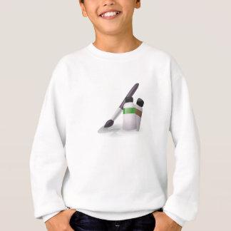 Tshirt Escova de pintura da arte