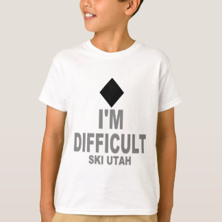 Tshirt Esqui difícil Utá