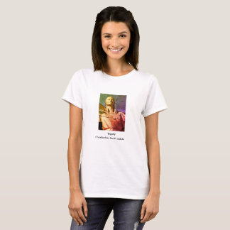 Tshirt Estátua da mulher do nativo americano