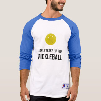 Tshirt Eu acordo somente para Pickleball