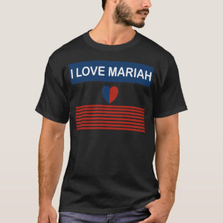 Tshirt Eu amo Mariah