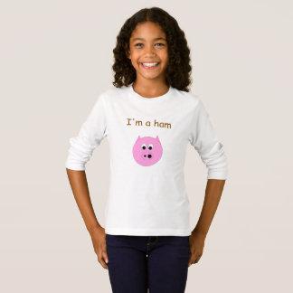 Tshirt Eu sou um presunto