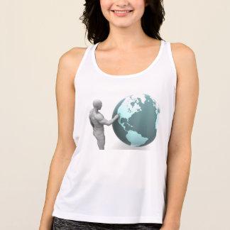 Tshirt Expansão de negócio no continente de America do