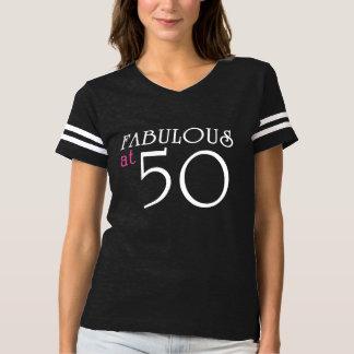 Tshirt FABULOSO no T de 50 aniversários