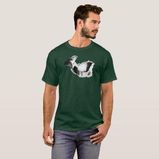 Tshirt Falcão e garganta