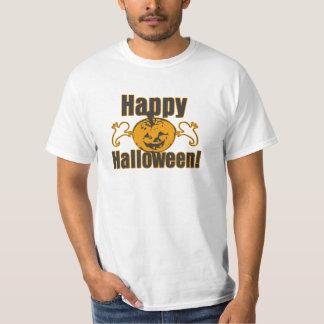 Tshirt feliz do valor do traje do fantasma da
