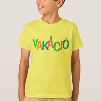 Tshirt Férias húngaras