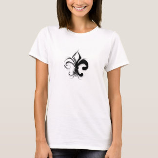 Tshirt Flor de lis