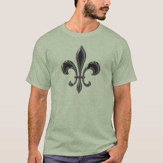 Tshirt Flor de lis - Stripey